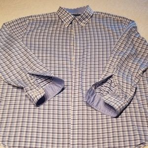 Men's Nautica button up, long sleeve